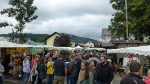 Part of the main street market