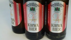 Bottles of Kirwa beer